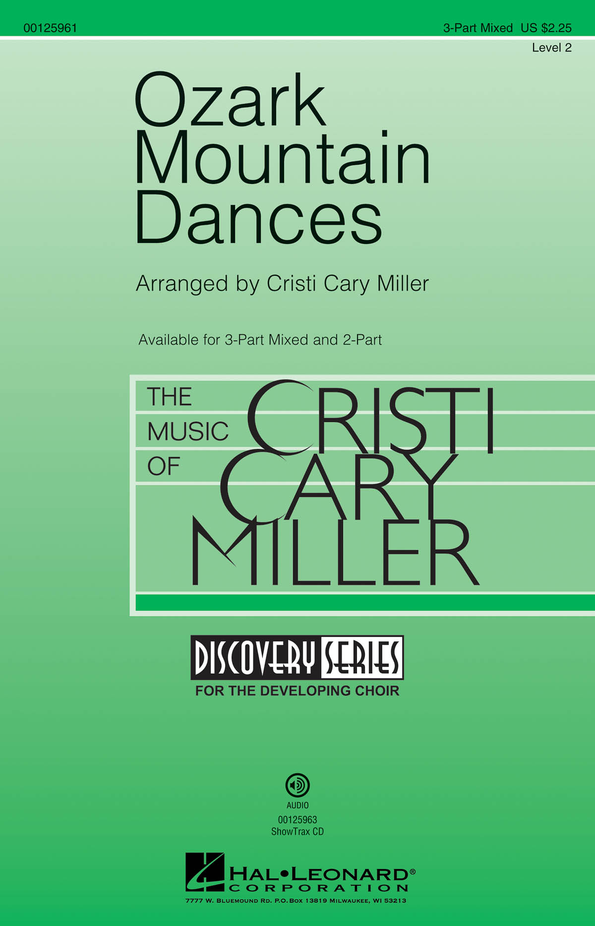 Ozark Mountain Dances: Mixed Choir a Cappella: Vocal Score