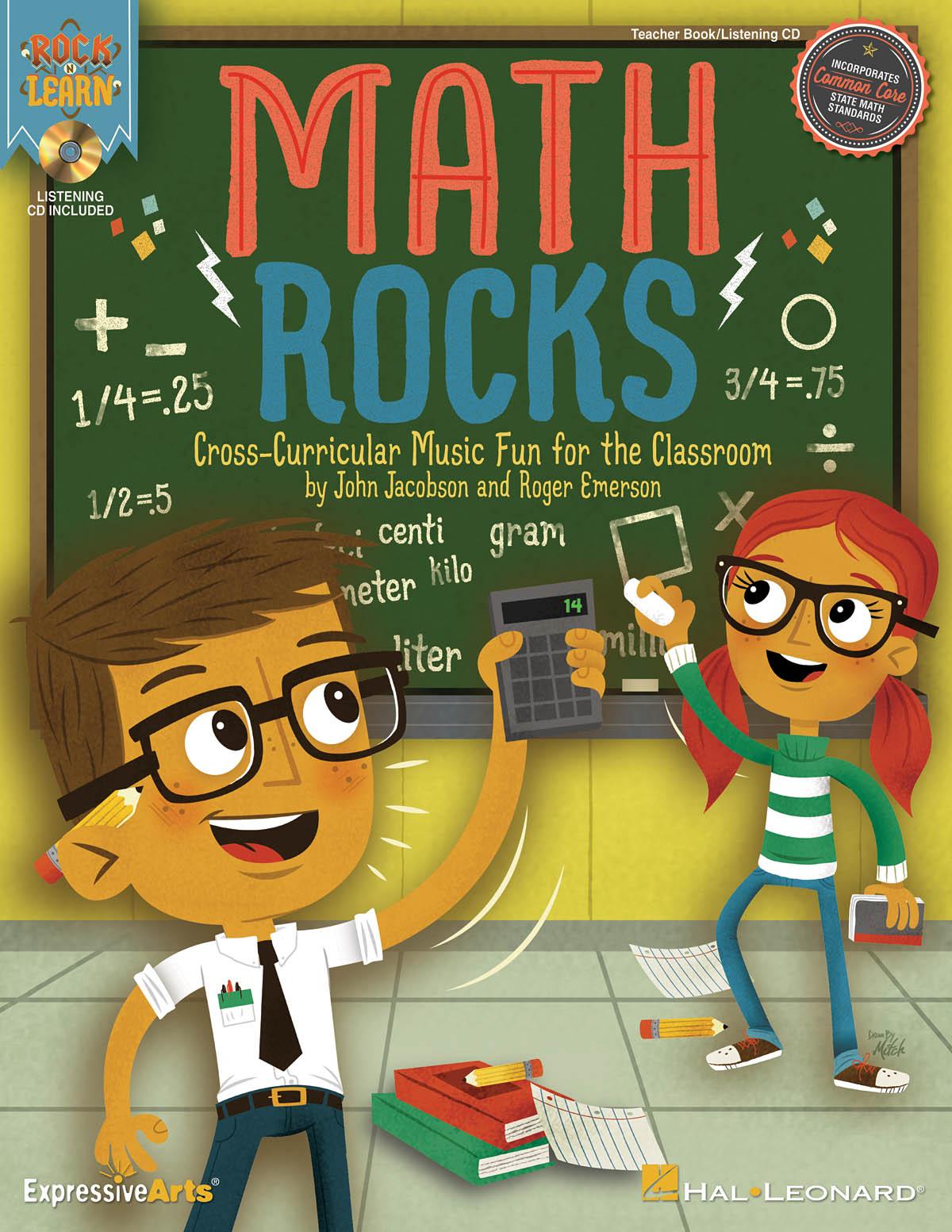 John Jacobson Roger Emerson: Math Rocks: Mixed Choir a Cappella: Classroom