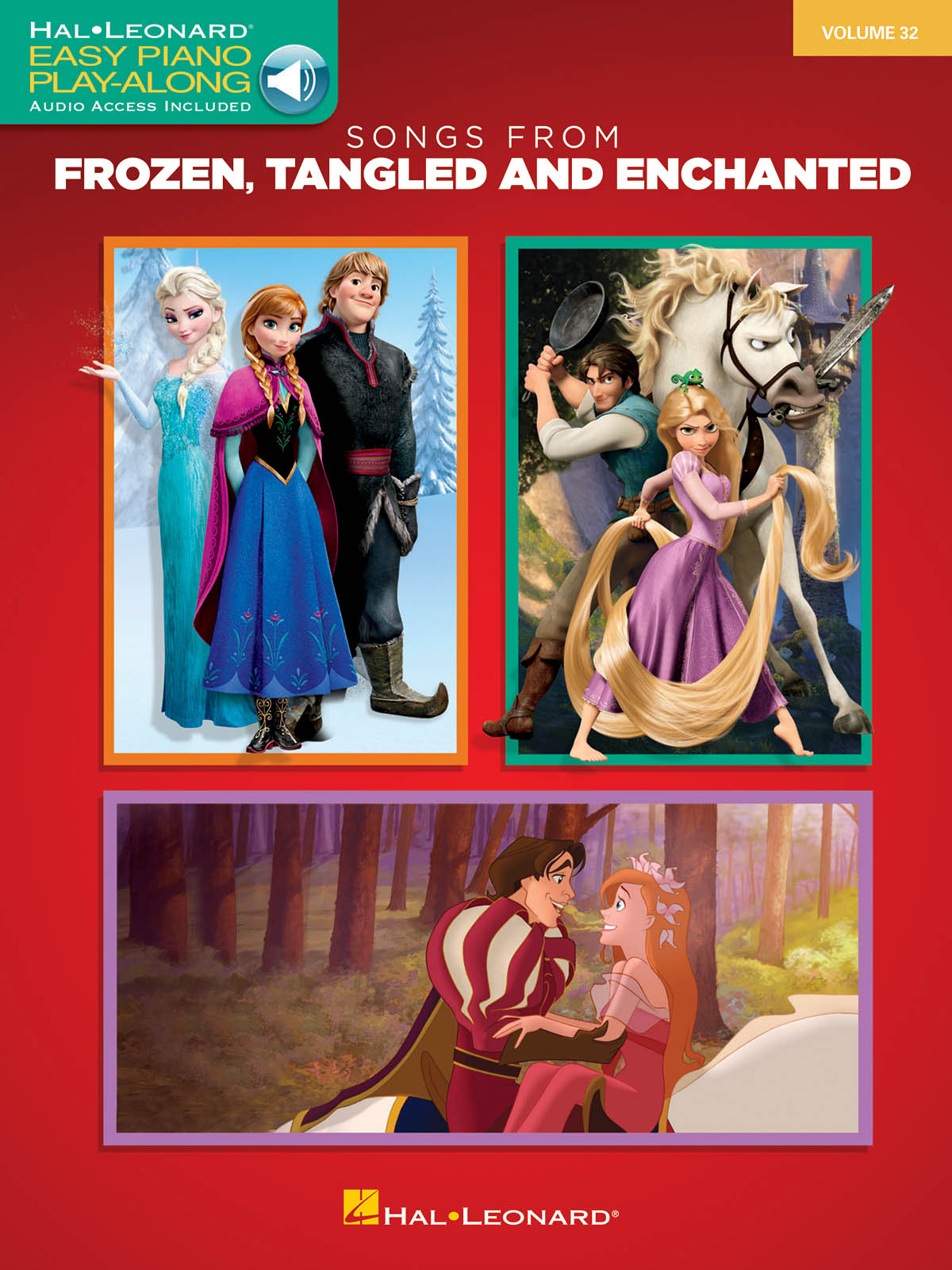 Songs from Frozen  Tangled and Enchanted: Easy Piano: Instrumental Album