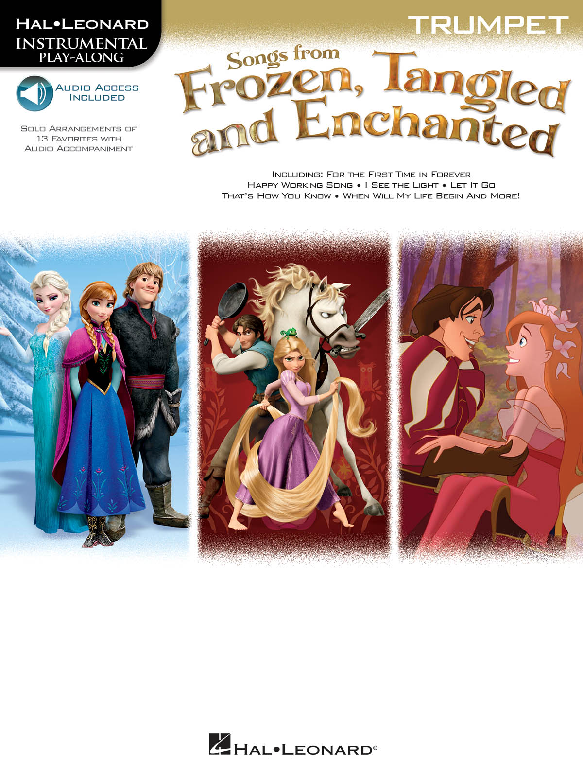 Songs From Frozen  Tangled & Enchanted - Trumpet: Trumpet Solo: Instrumental
