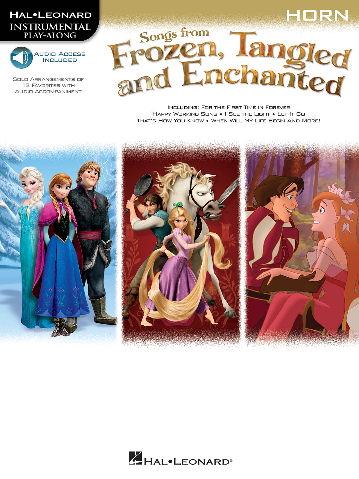 Songs From Frozen  Tangled & Enchanted - Horn: French Horn Solo: Instrumental