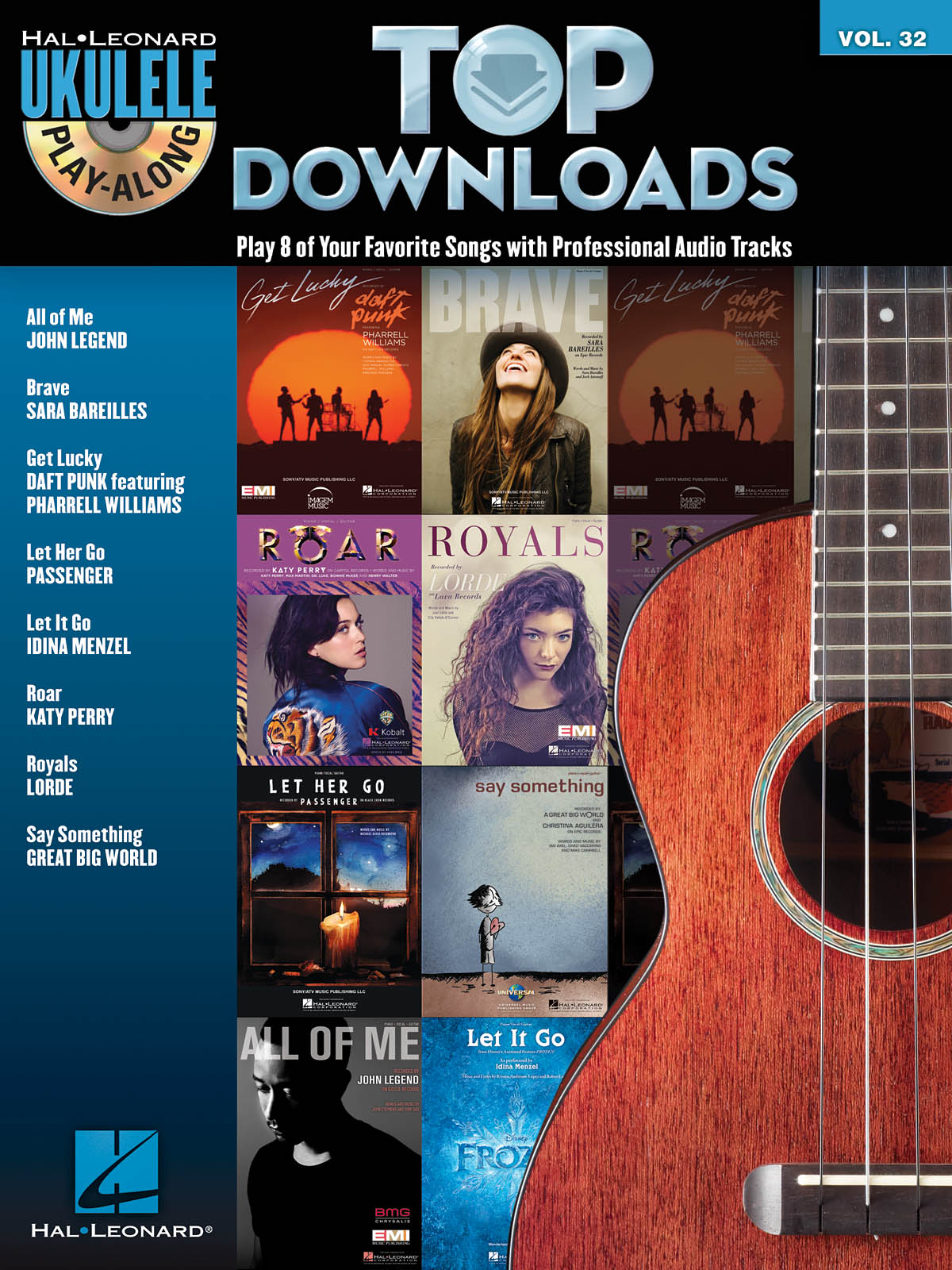 Top Downloads: Ukulele Solo: Mixed Songbook