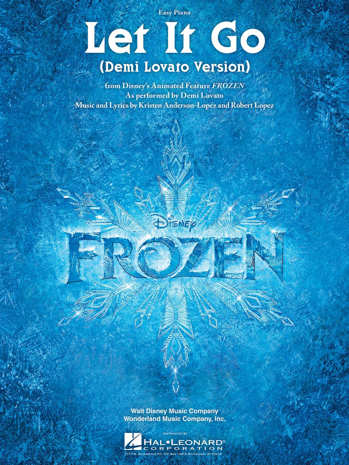 Kristen Anderson-Lopez Robert Lopez: Let It Go (from Frozen): Easy Piano: Single