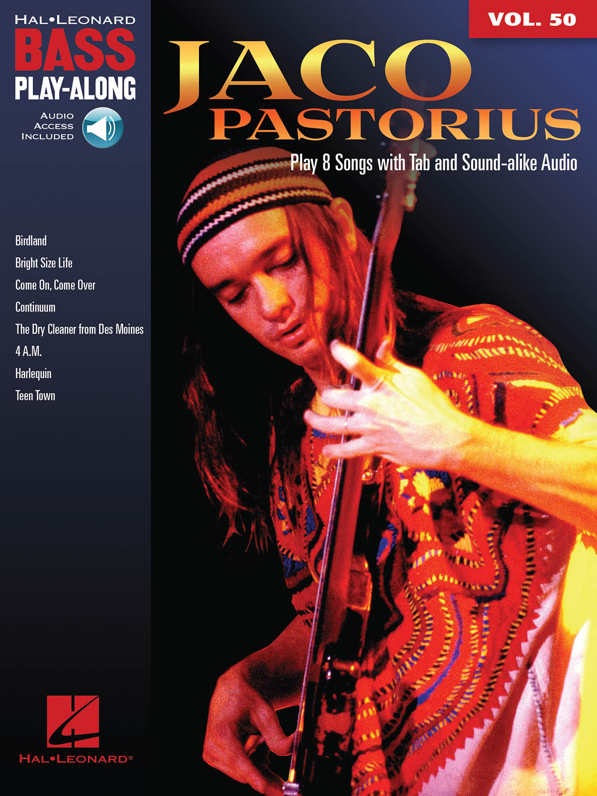 Jaco Pastorius: Bass Play-Along Volume 50: Jaco Pastorius: Bass Guitar Solo: