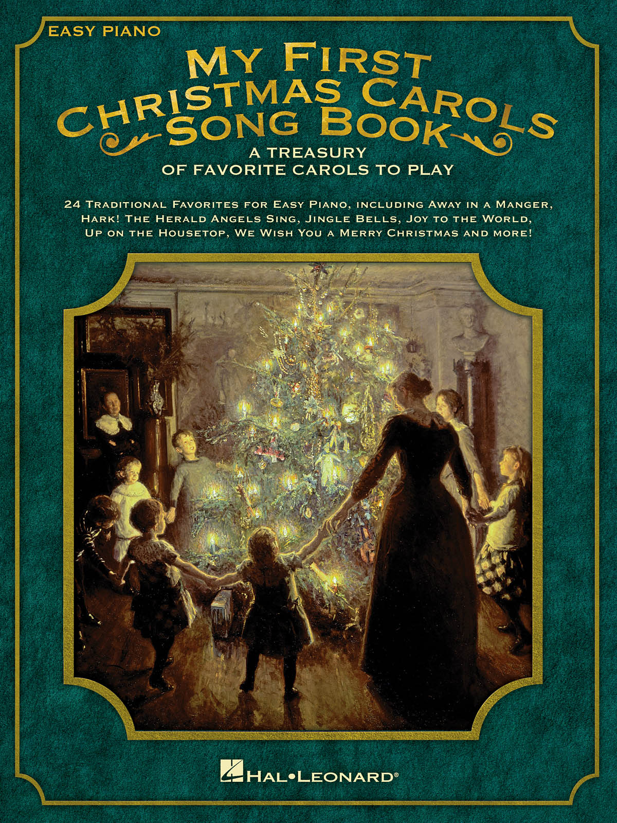 My First Christmas Carols Song Book: Easy Piano: Mixed Songbook