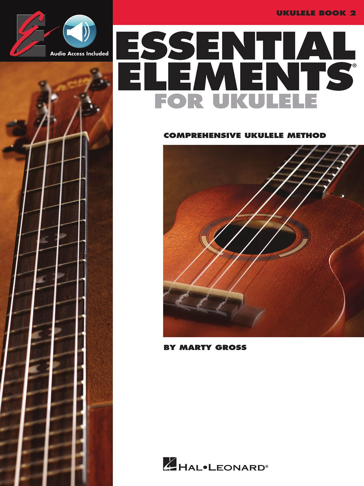 Marty Gross: Essential Elements Ukulele Method - Book 2: Ukulele Solo: Book &