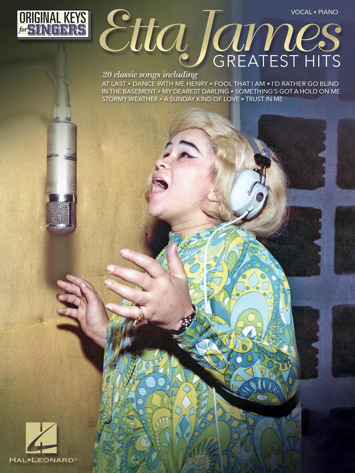 Etta James: Etta James: Greatest Hits: Vocal and Piano: Artist Songbook