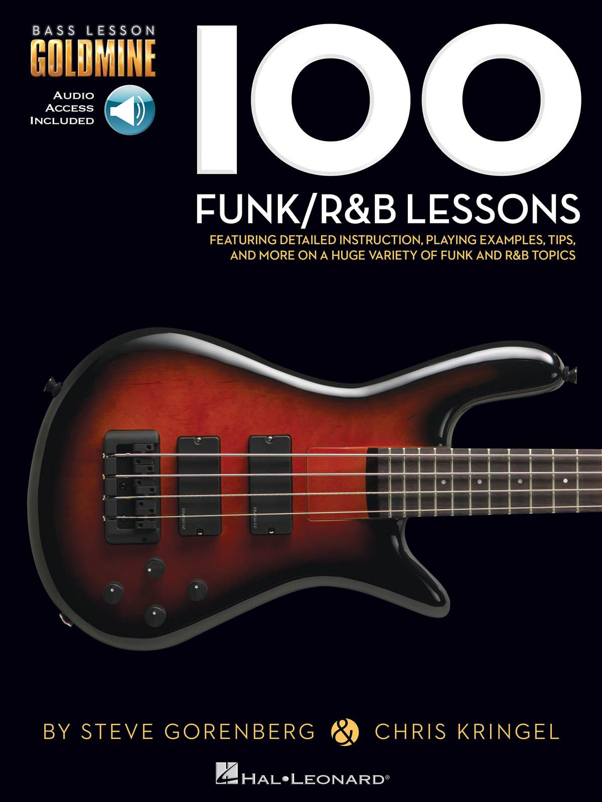 100 Funk/R&B Lessons: Bass Guitar Solo: Instrumental Tutor