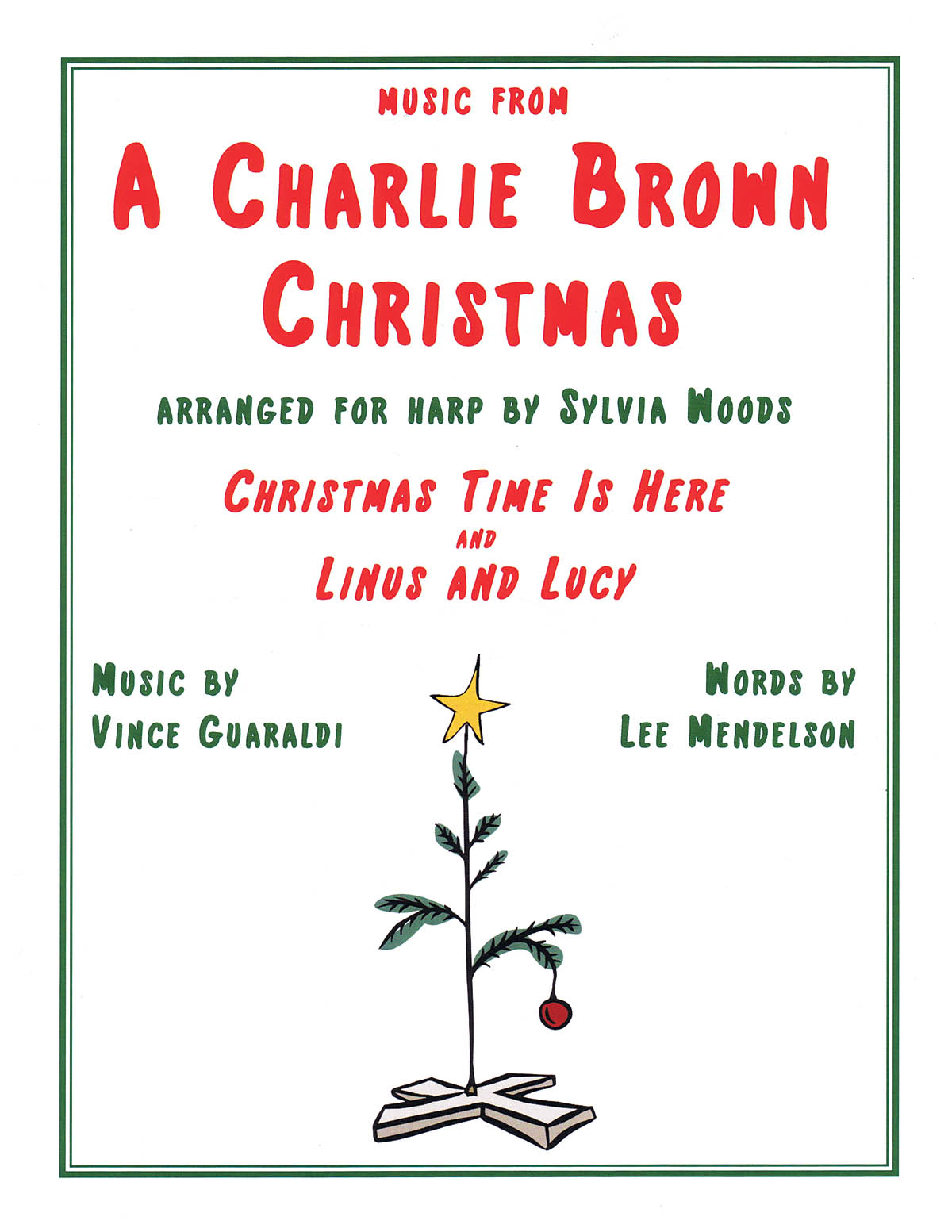 Vince Guaraldi: Music From A Charlie Brown Christmas: Harp Solo: Instrumental
