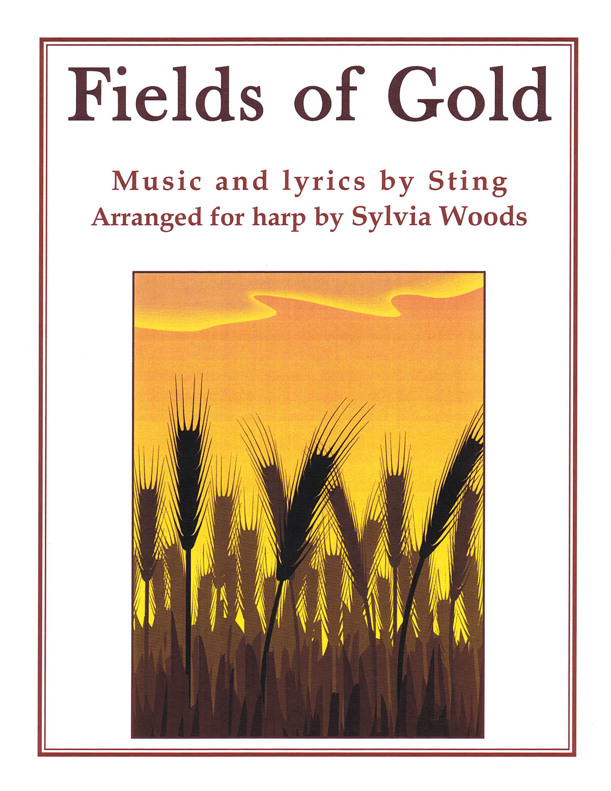 Fields of Gold: Arranged for Harp