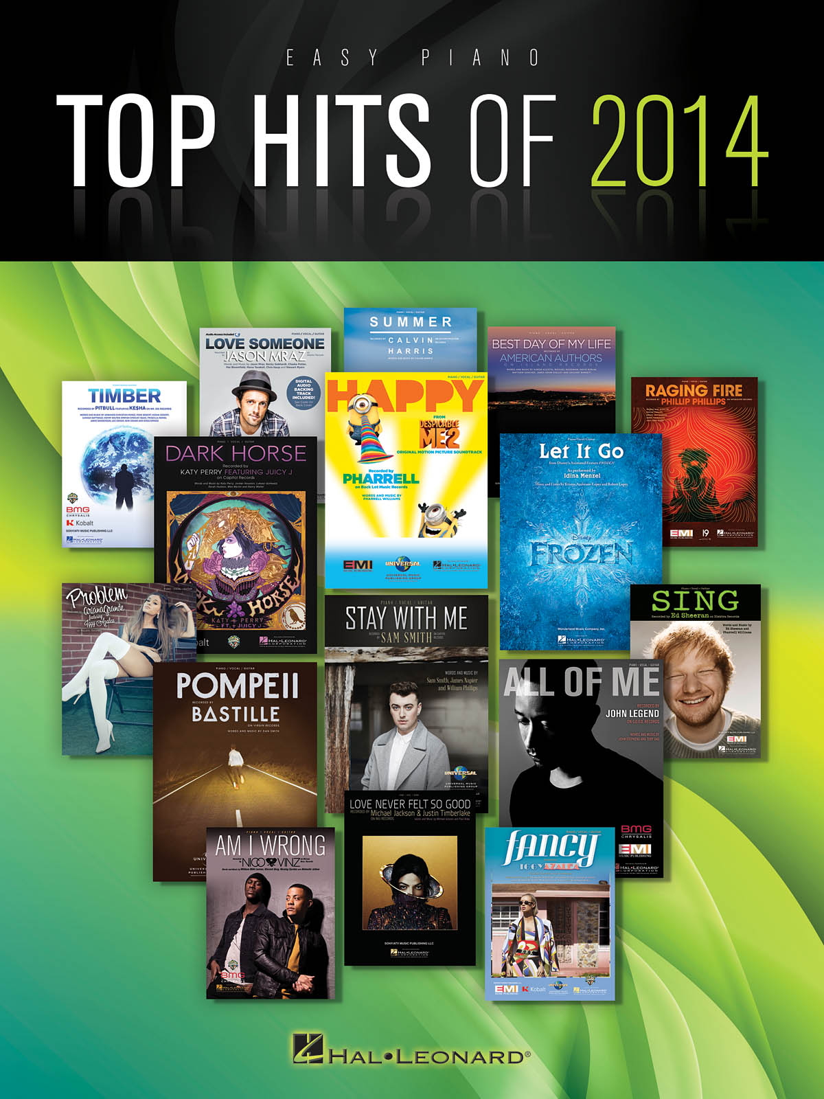Top Hits of 2014: Easy Piano: Mixed Songbook