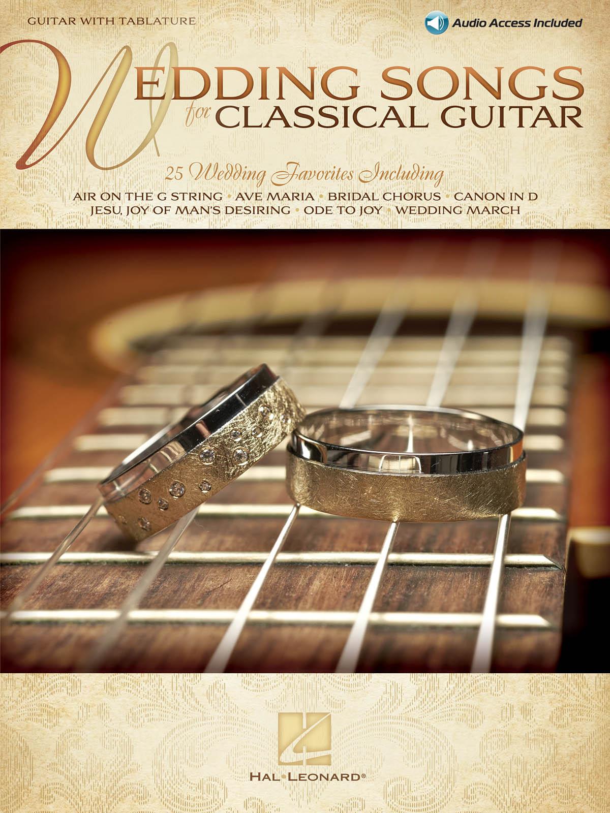Wedding Songs for Classical Guitar: Guitar Solo: Instrumental Album