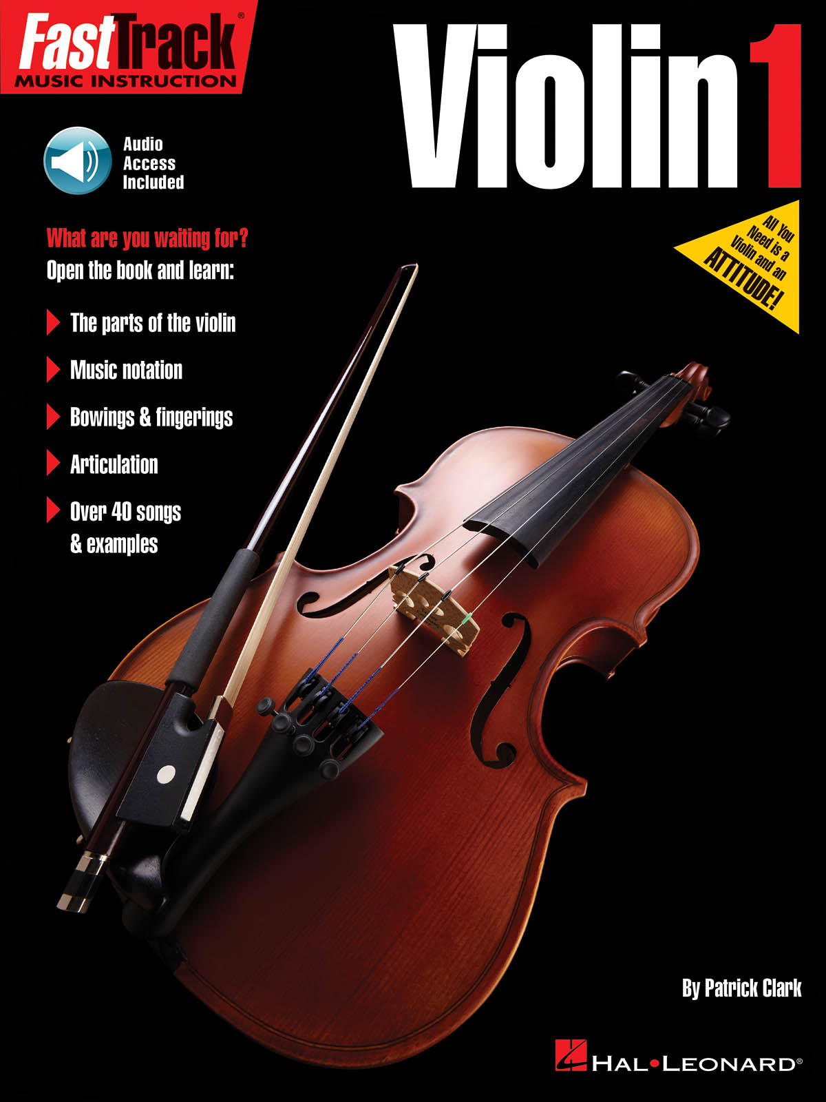 Patrick Clark: FastTrack - Violin Method 1: Violin Solo: Instrumental Tutor
