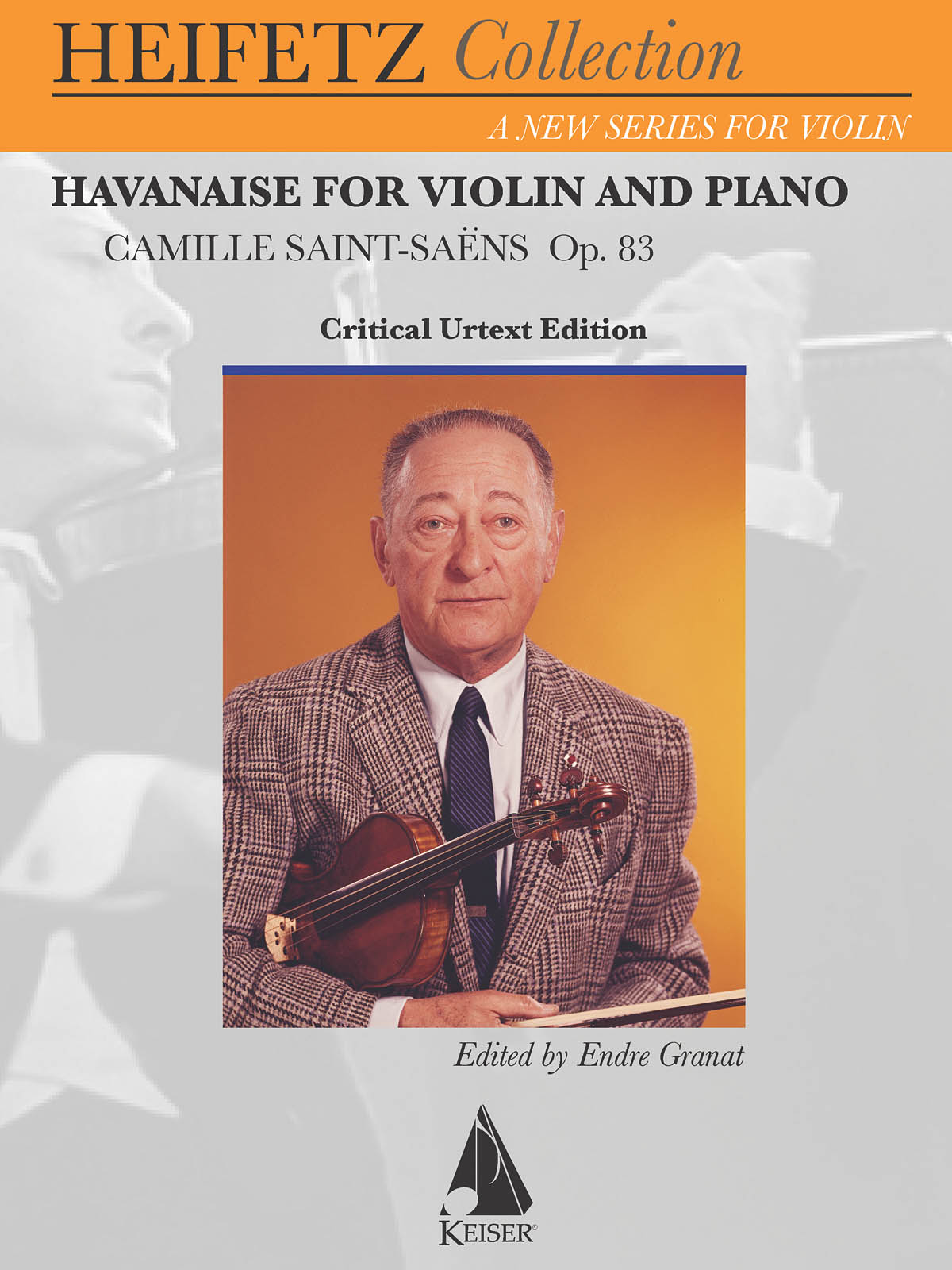 Camille Saint-Saëns: Havanaise for Violin and Piano: Violin and Accomp.: