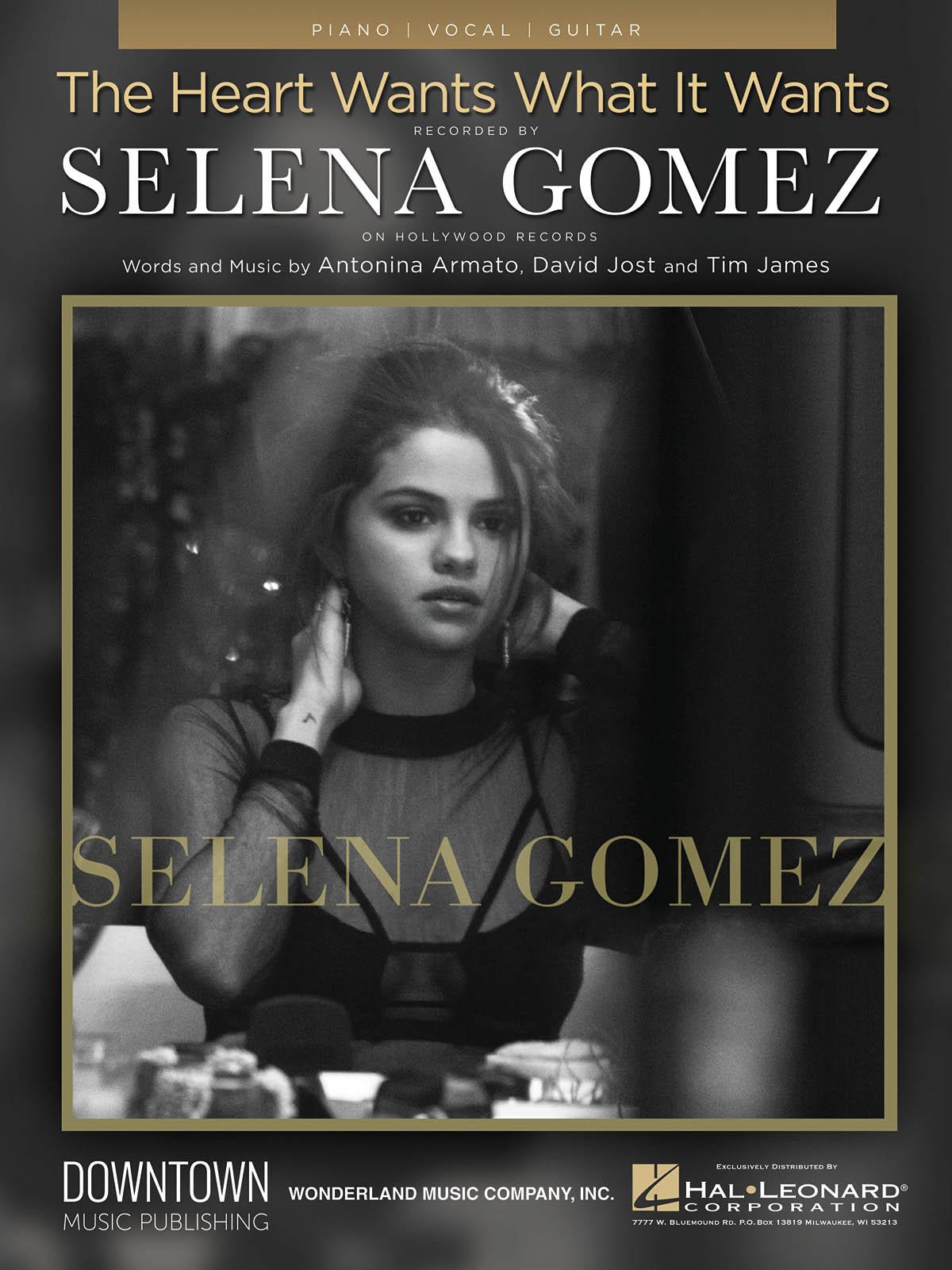 Selena Gomez: The Heart Wants What It Wants: Piano  Vocal  Guitar: Single Sheet