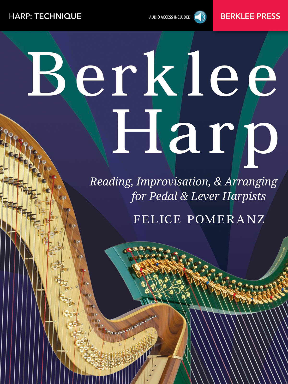Berklee Harp: Reference Books: Instrumental Tutor