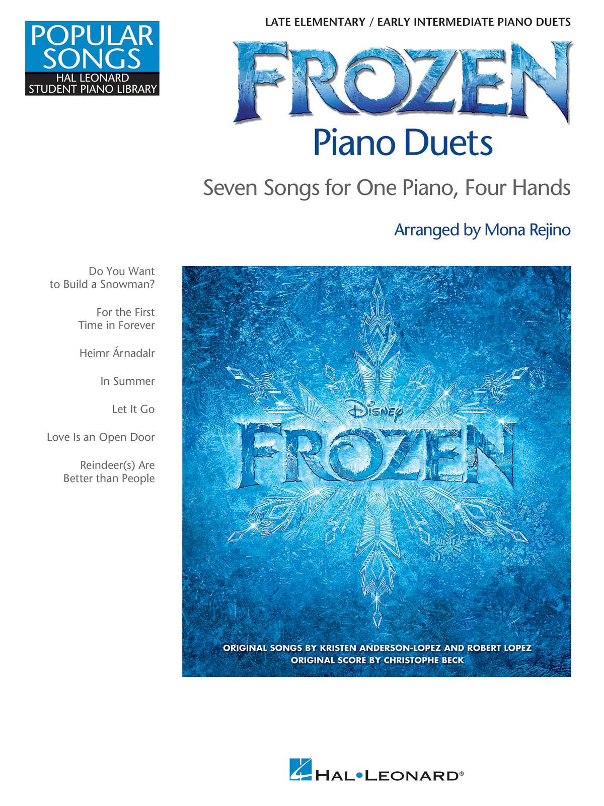 Robert Lopez Kristen Anderson-Lopez: Frozen Piano Duets: Piano 4 Hands: