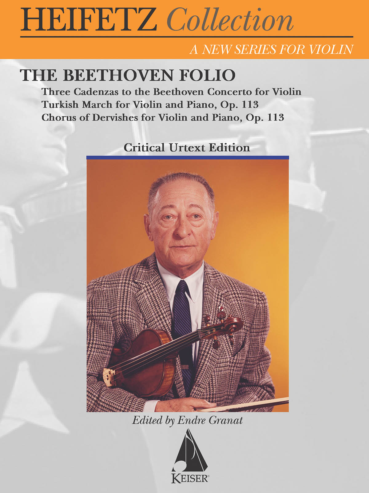Ludwig van Beethoven: The Beethoven Folio: Violin and Accomp.: Instrumental