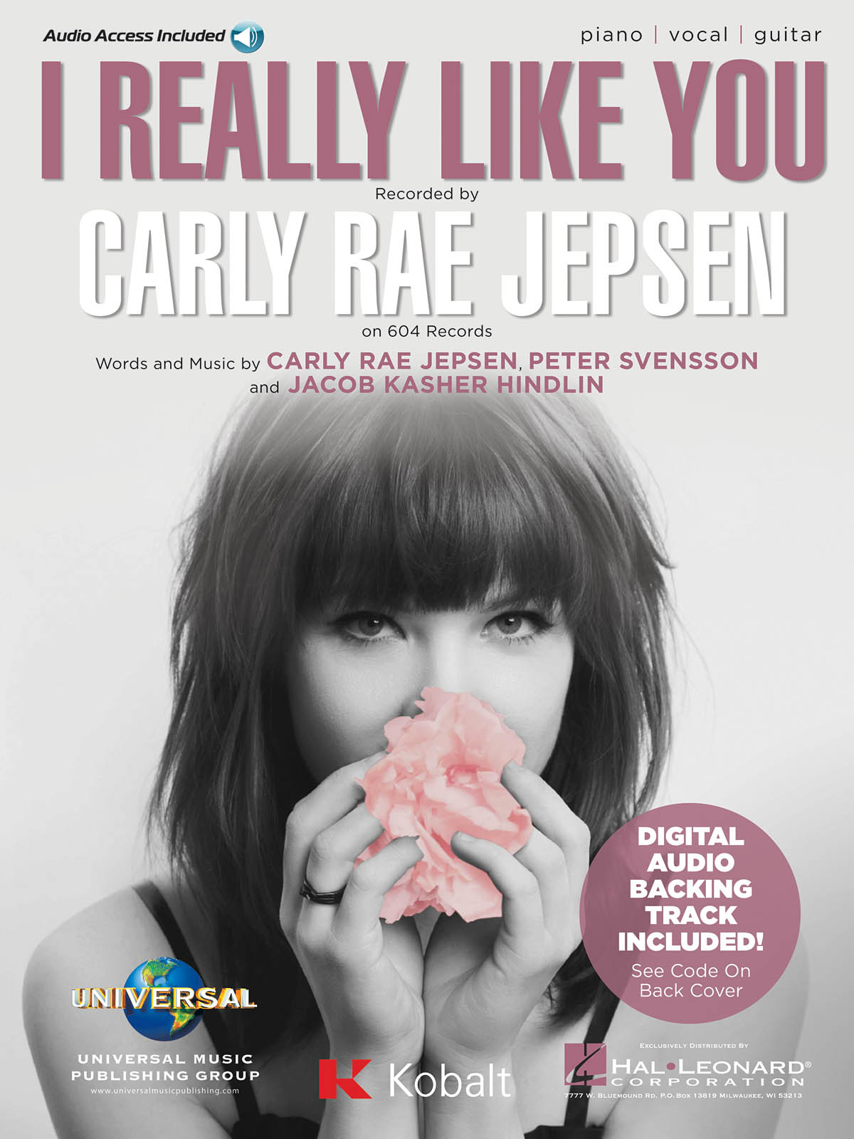 Carly Rae Jepsen: I Really Like You: Vocal and Piano: Mixed Songbook