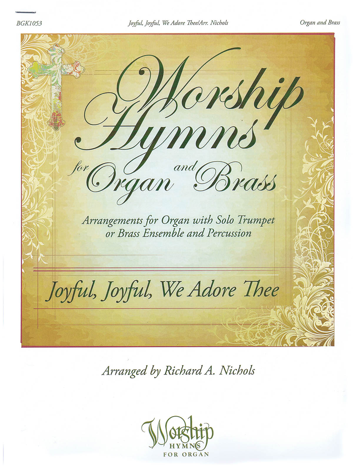 Joyful  Joyful  We Adore Thee: Trumpet and Accomp.: Instrumental Work