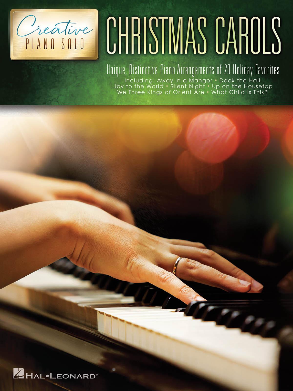 Christmas Carols - Creative Piano Solo: Piano: Instrumental Album