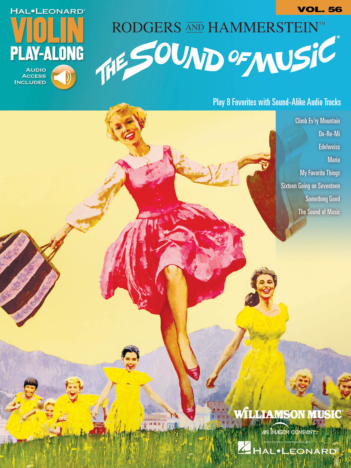 Violin Play-Along Volume 56: The Sound Of Music (Hal Leonard Violin Play-Along) (Includes Online Access Code)