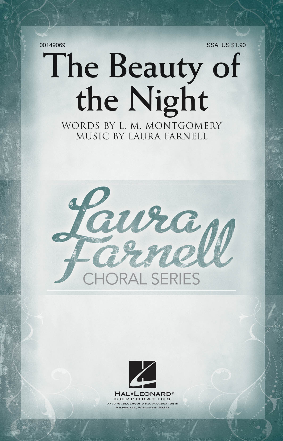 Laura Farnell: The Beauty of the Night: Upper Voices a Cappella: Vocal Score