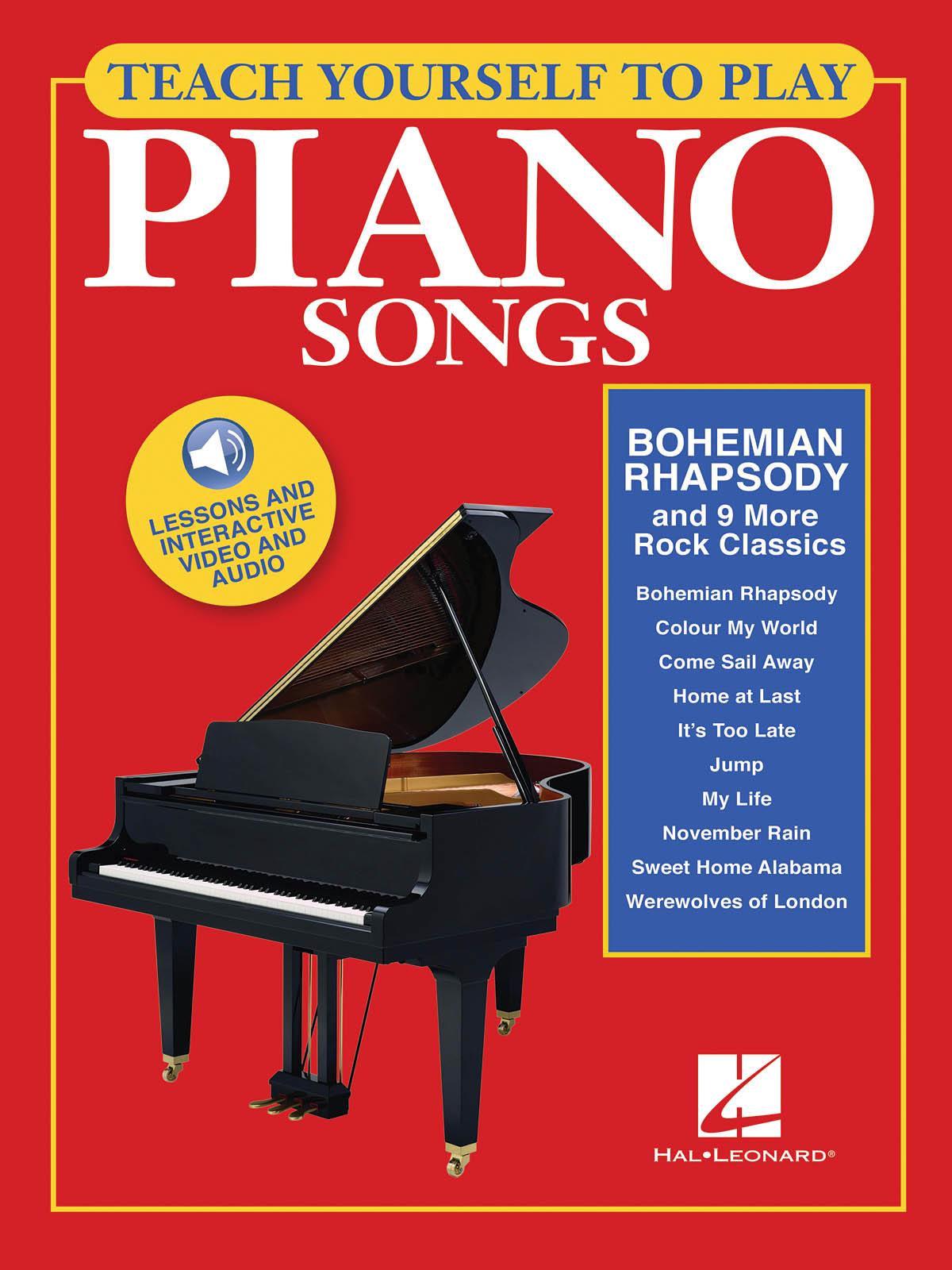 Bohemian Rhapsody And 9 More Rock Classics: Piano: Instrumental Tutor