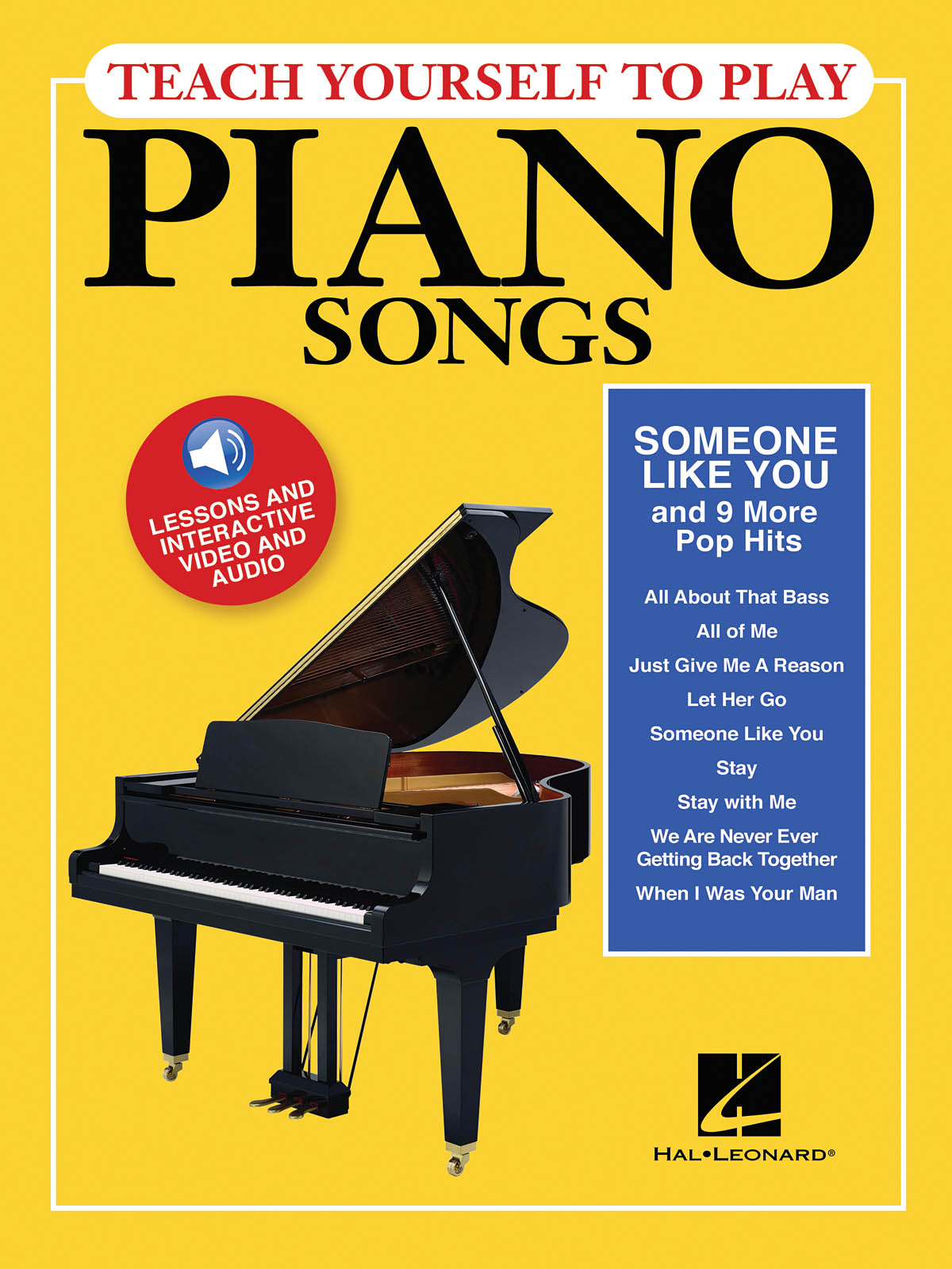 Someone Like You And 9 More Pop Hits: Piano: Instrumental Tutor