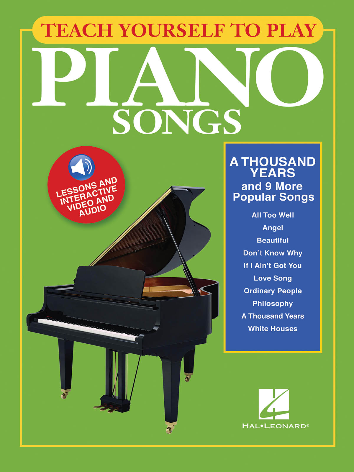 A Thousand Years And 9 More Popular Songs: Piano  Vocal and Guitar: Instrumental