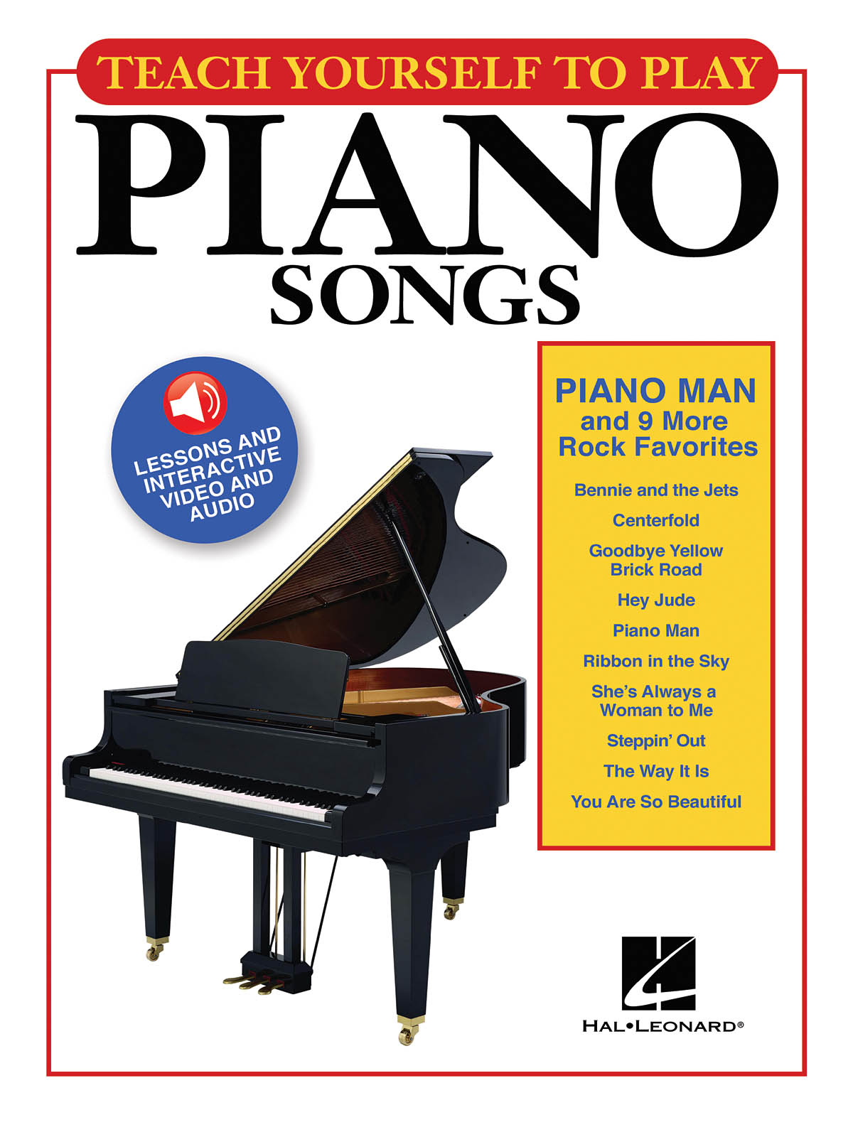 Piano Man And 9 More Rock Favorites: Piano  Vocal and Guitar: Instrumental Tutor