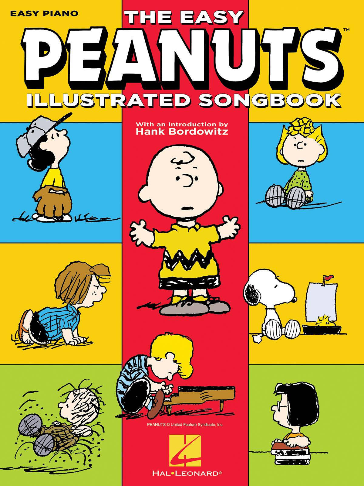 Vince Guaraldi: The Easy Peanuts Illustrated Songbook: Easy Piano: Instrumental