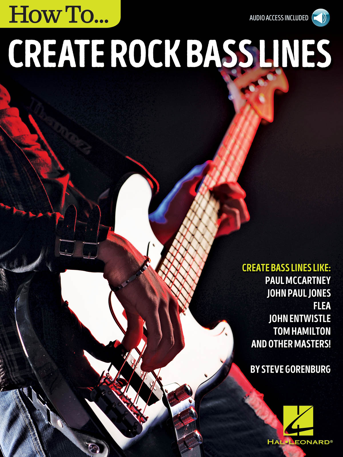 Steve Gorenberg: How to Create Rock Bass Lines: Bass Guitar Solo: Instrumental
