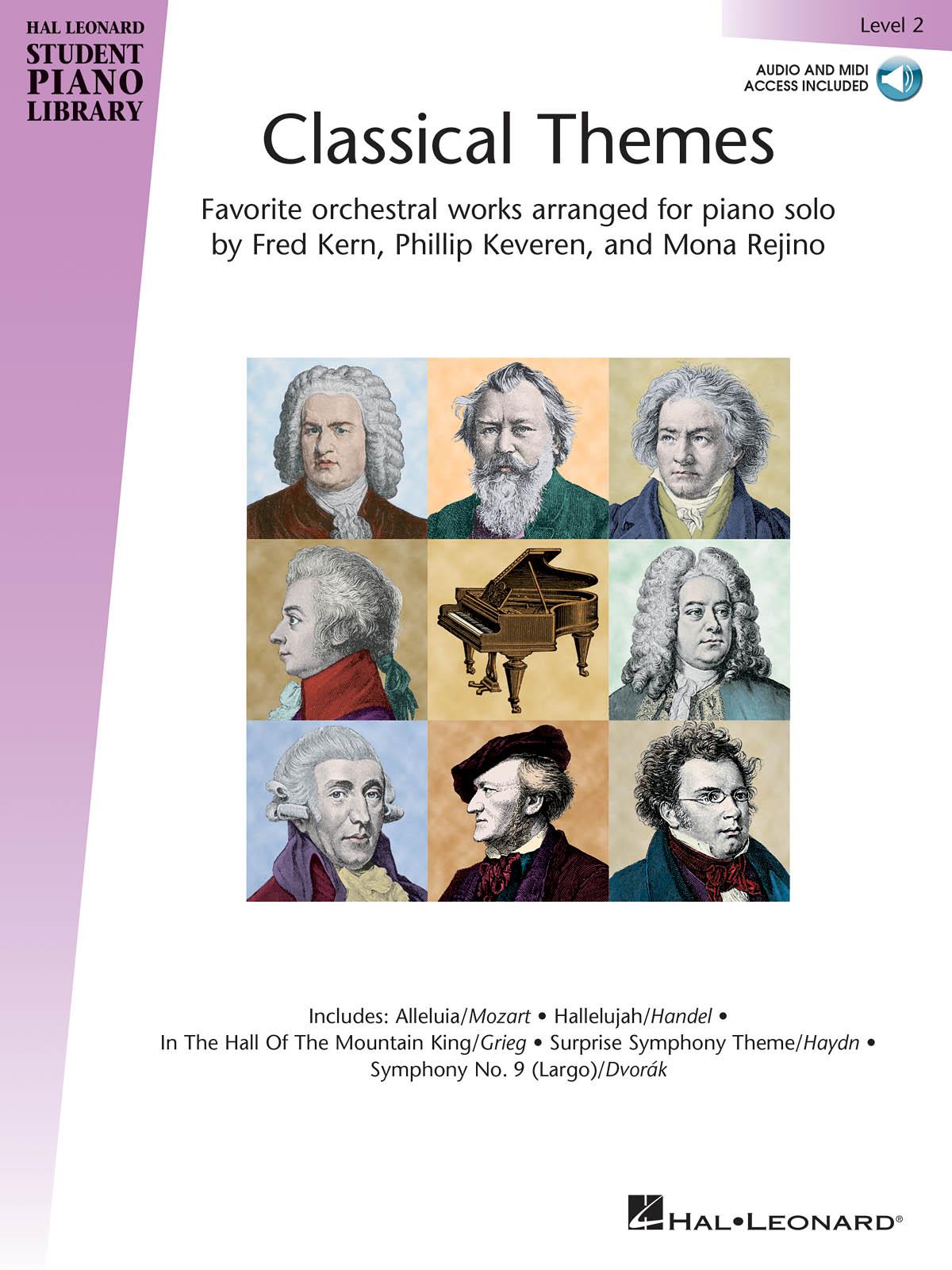 Classical Themes Level 2: Piano: Instrumental Album