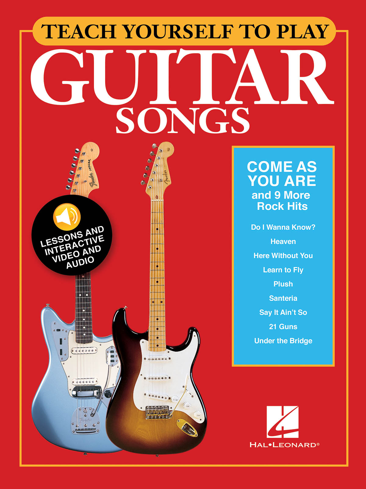 Come As You Are and 9 More Rock Hits: Guitar Solo: Instrumental Tutor