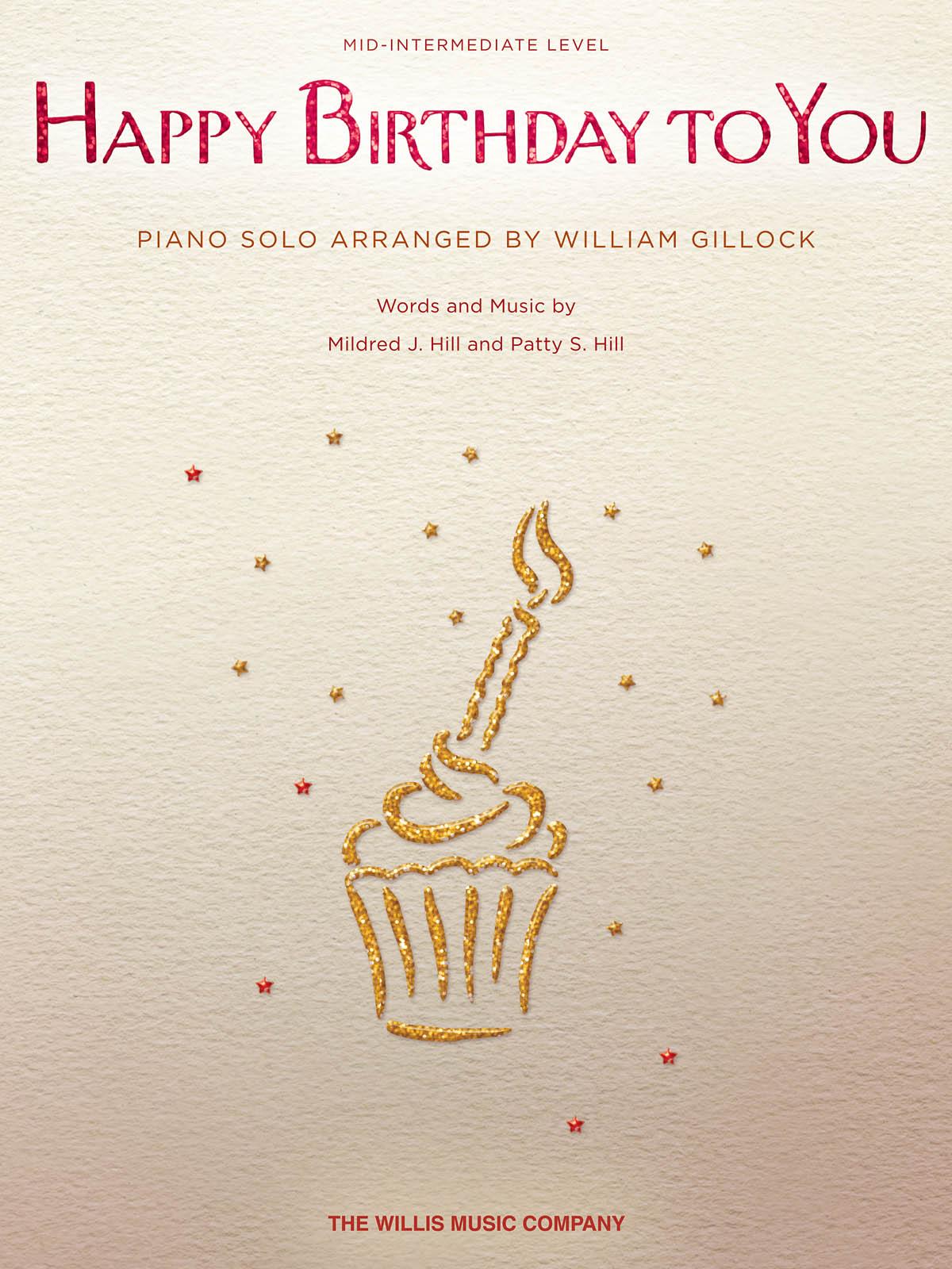 Happy Birthday to You: Piano: Instrumental Work