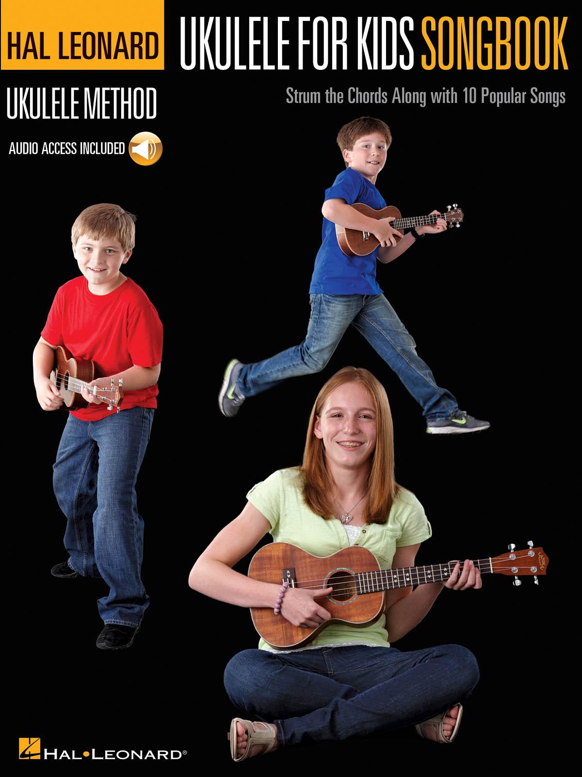 Hal Leonard Ukulele Method for Kids Songbook: Ukulele Solo: Instrumental Tutor