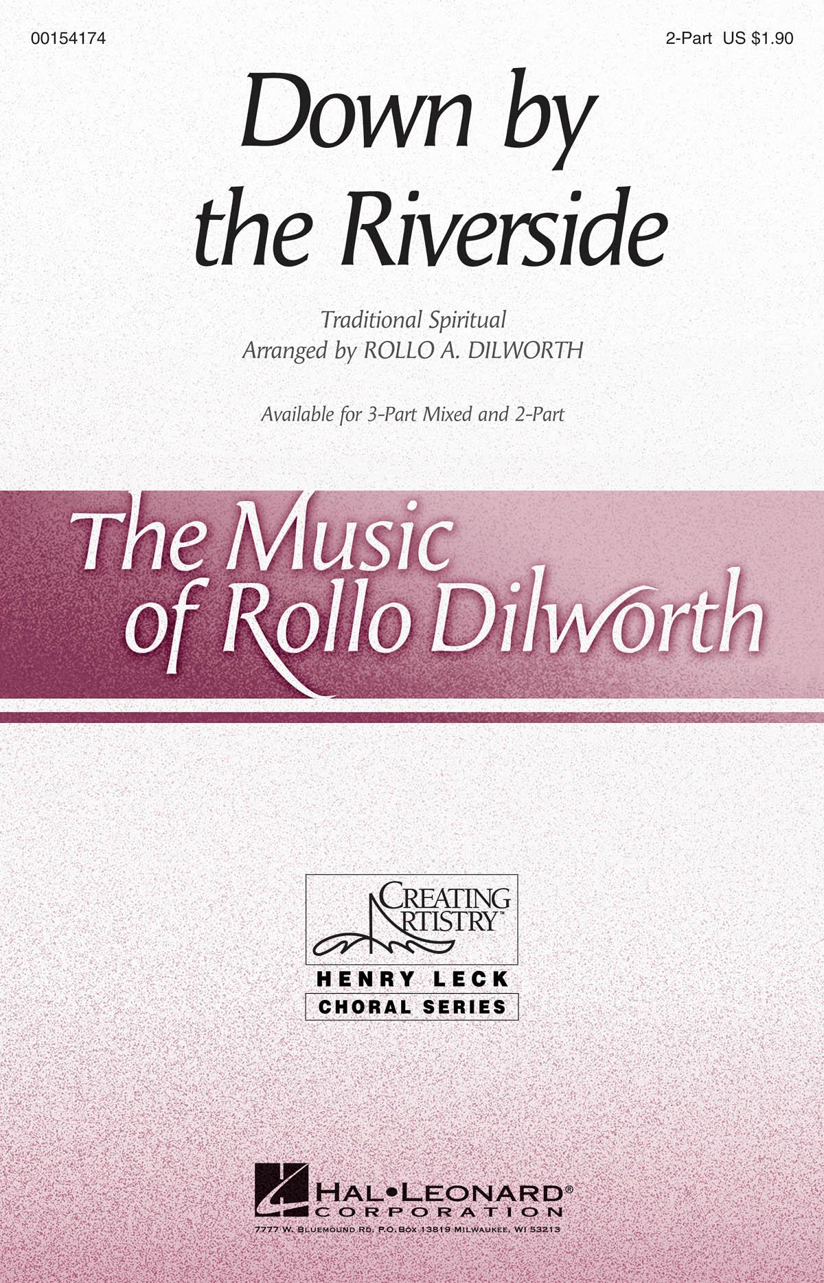 Down by the riverside: 2-Part Choir: Vocal Score
