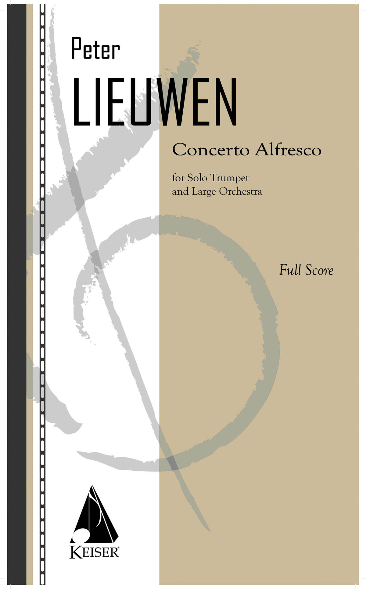 Peter Lieuwen: Concerto Alfresco for Trumpet and Large Orchestra: Orchestra and