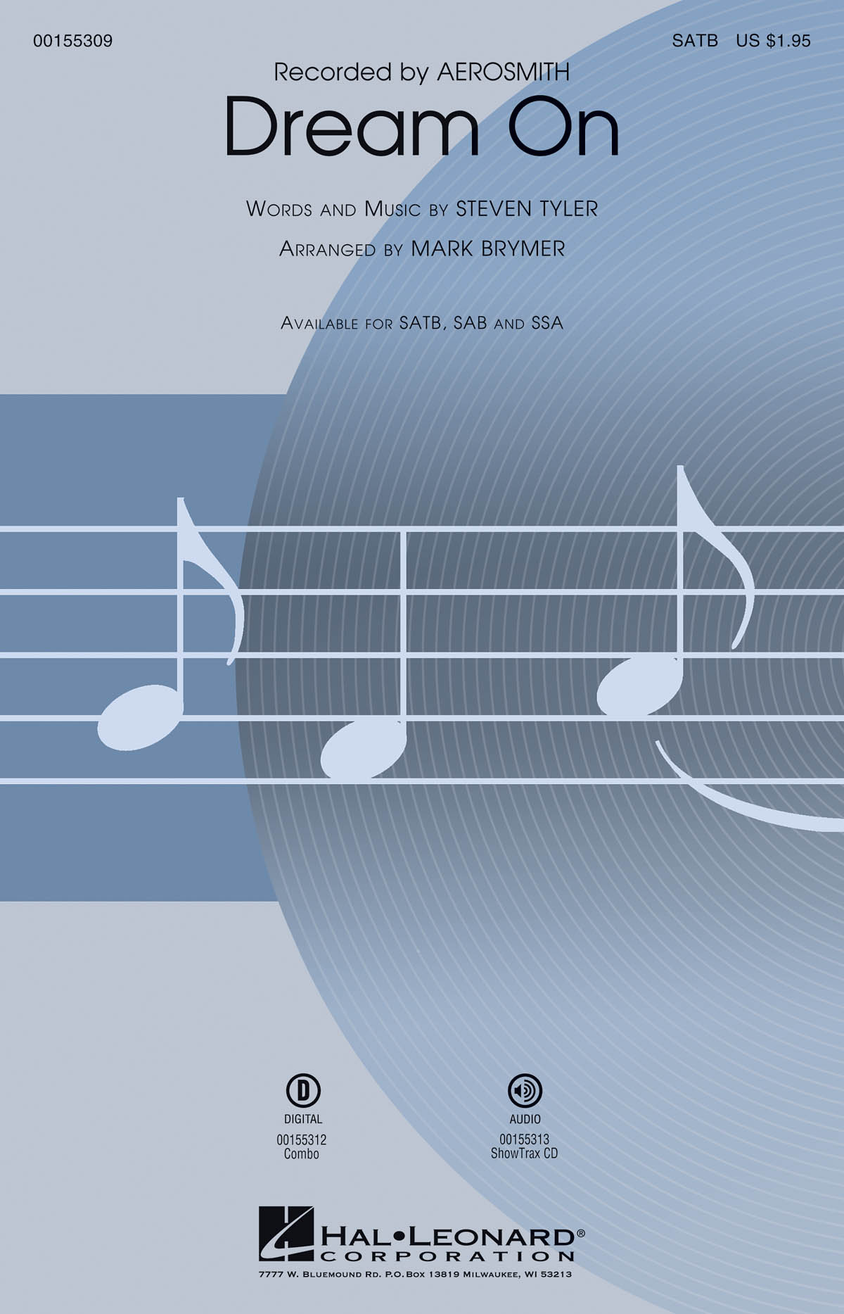 Dream On: Mixed Choir a Cappella: Vocal Score