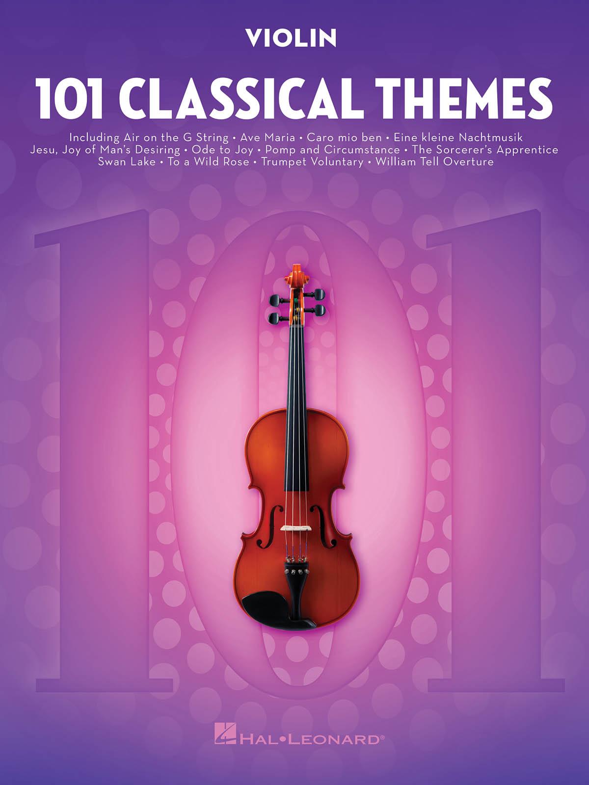 101 Classical Themes for Violin: Violin Solo: Instrumental Album