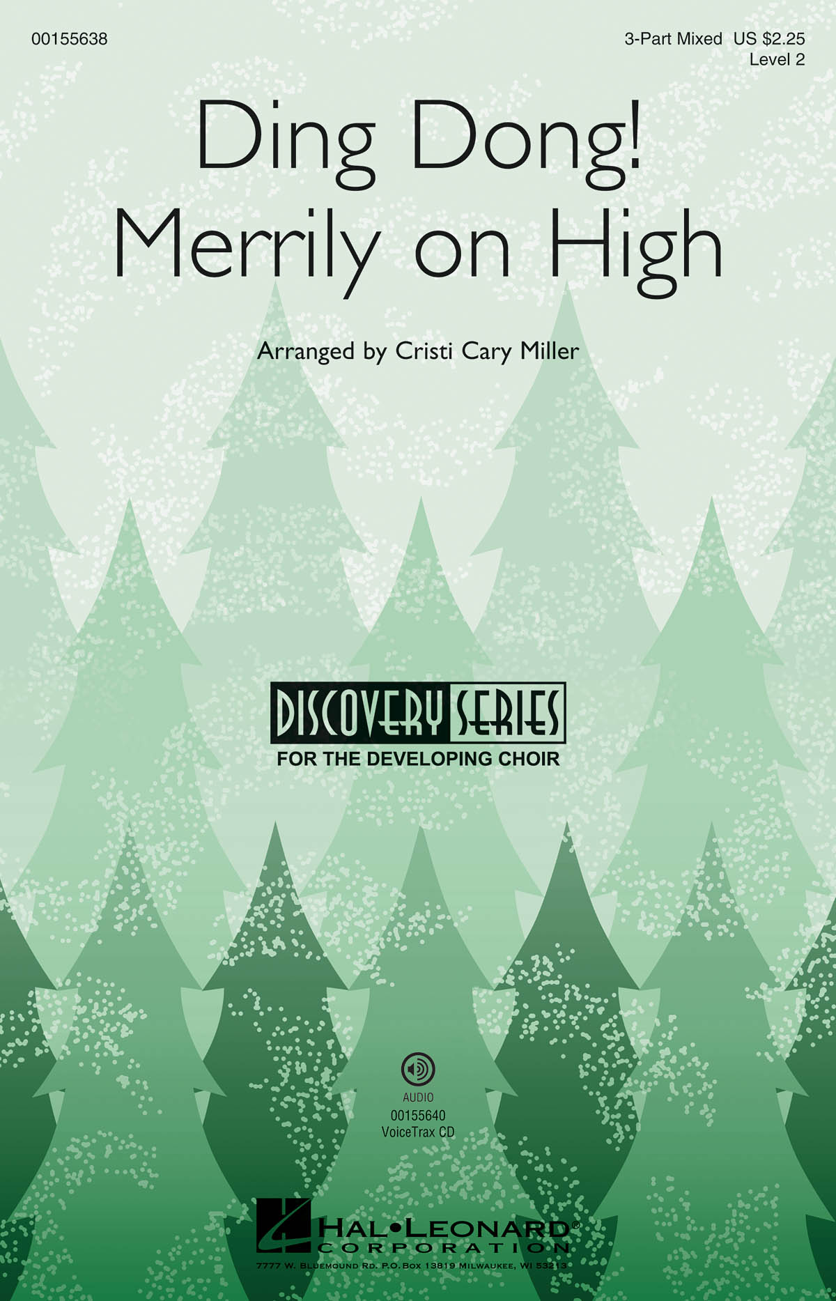 Ding Dong! Merrily on High: 3-Part Choir: Vocal Score