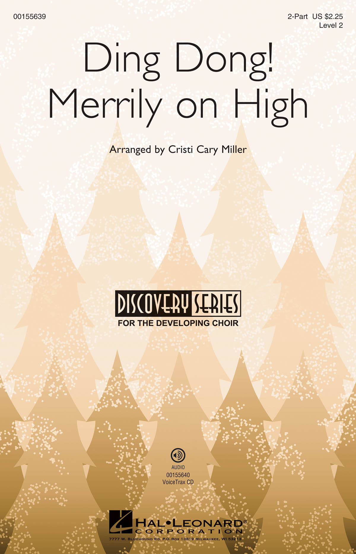 Ding Dong! Merrily on High: 2-Part Choir: Vocal Score
