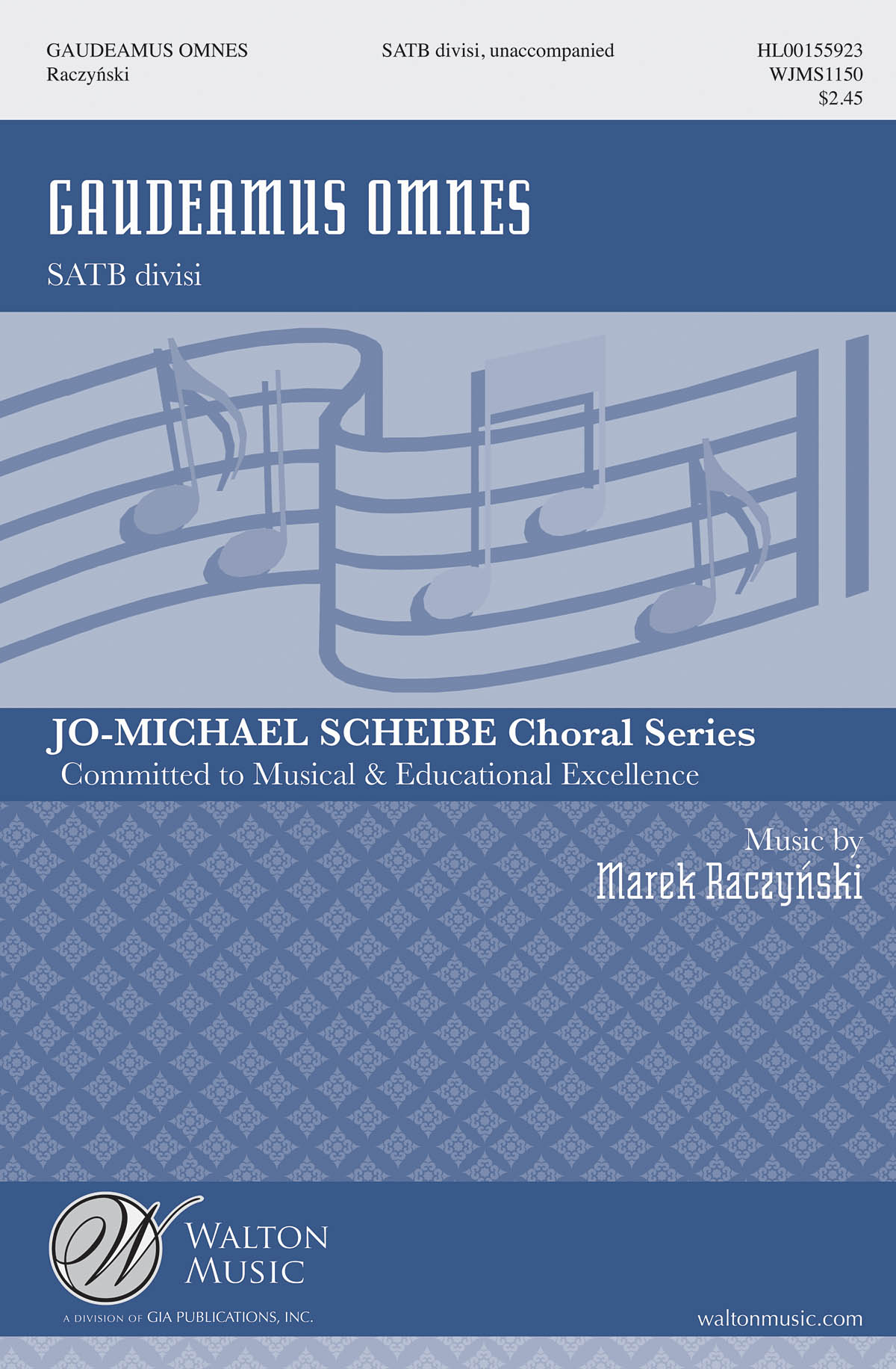Marek Raczynski: Gaudeamus omnes: Mixed Choir a Cappella: Vocal Score