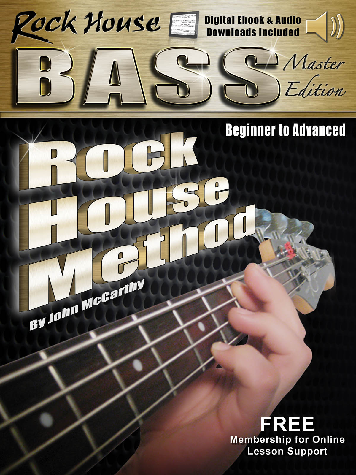 Rock House Bass Guitar Master Edition Complete: Guitar Solo: Instrumental Tutor