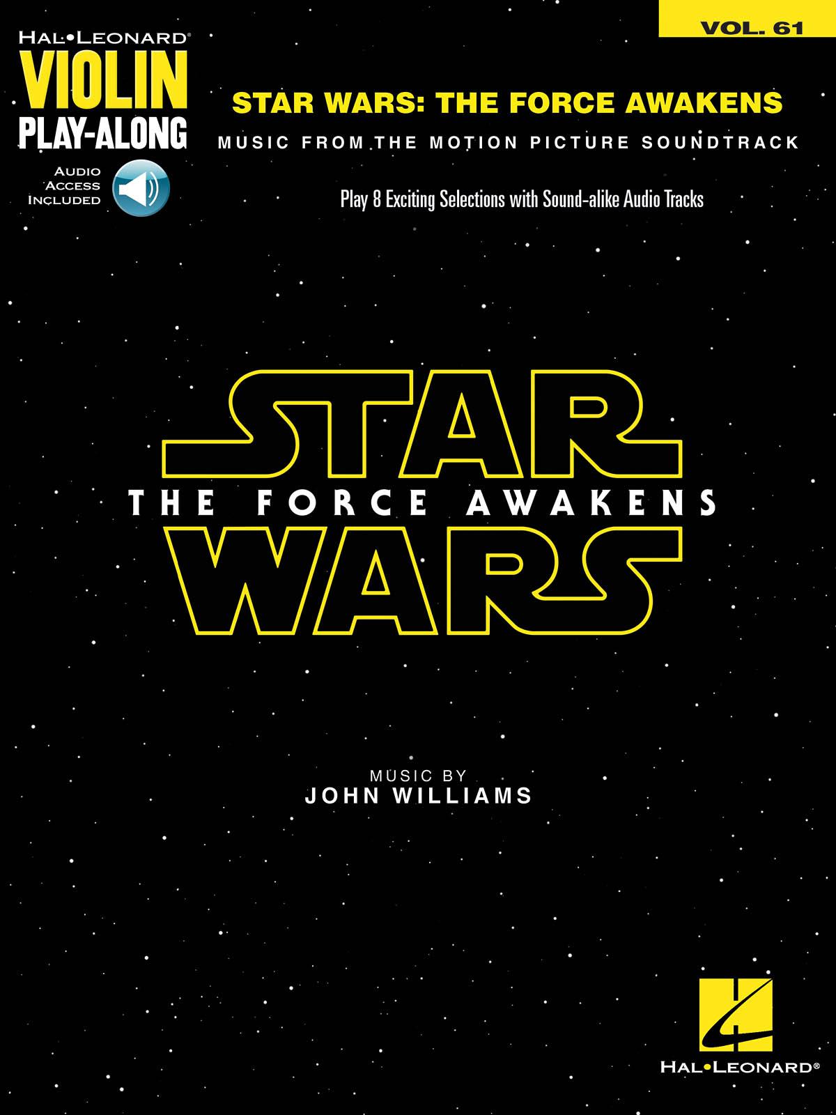 John Williams: Star Wars: The Force Awakens: Violin Solo: Instrumental Album