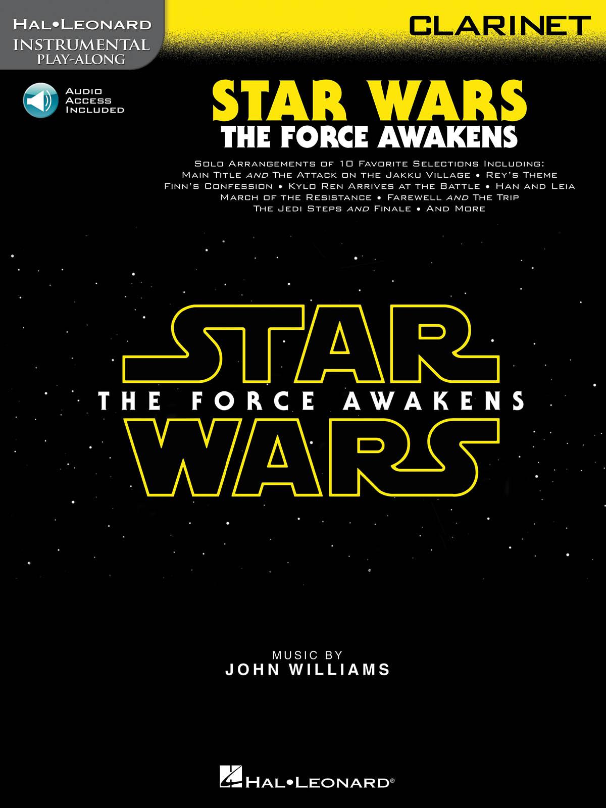 John Williams: Star Wars: The Force Awakens - Clarinet: Clarinet Solo: