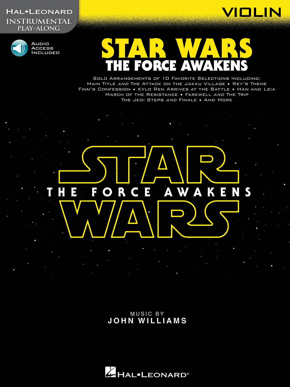 John Williams: Star Wars: The Force Awakens - Violin: Violin Solo: Instrumental