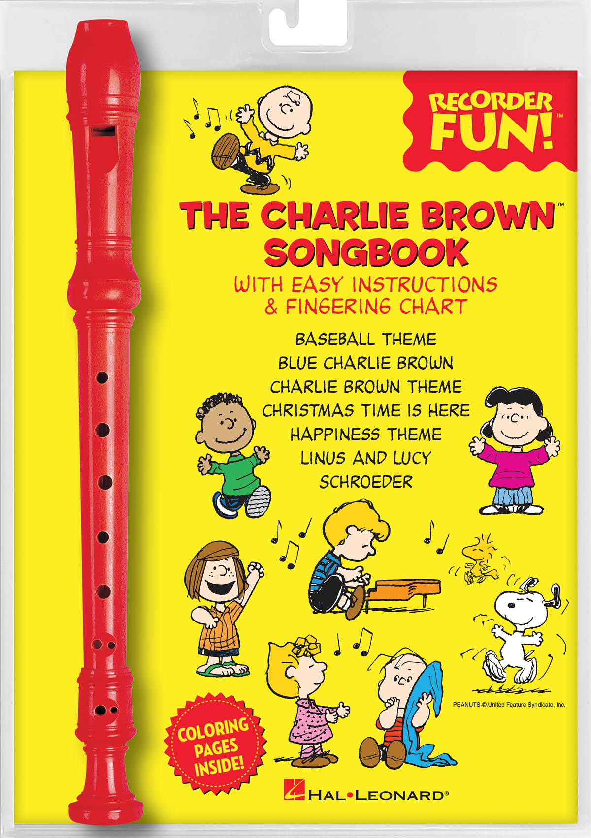 The Charlie Brown(TM) Songbook - Recorder Fun!: Recorder: Instrument Pack