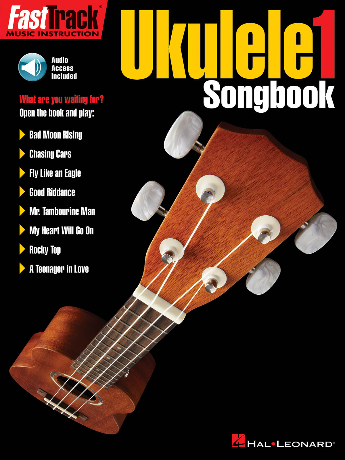 FastTrack Ukulele Songbook: Level 1: Ukulele Solo: Instrumental Tutor